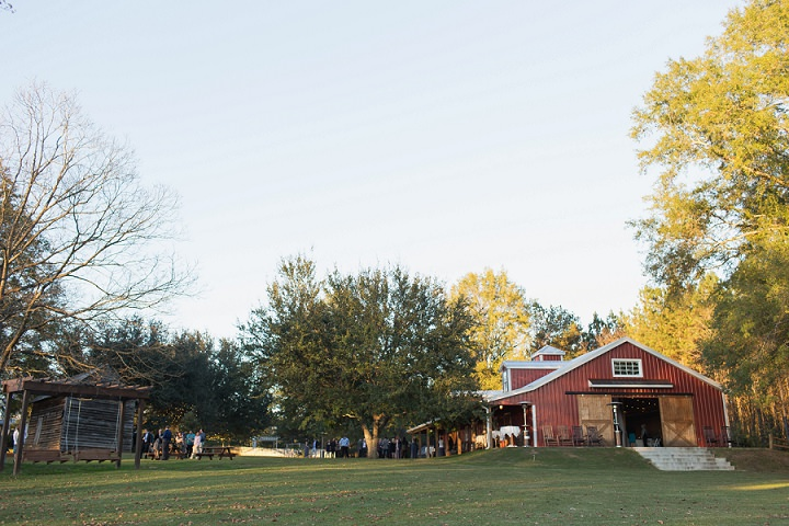 Emily and Matt\'s Magical Autumn Wedding in the Woods by Leslie ...