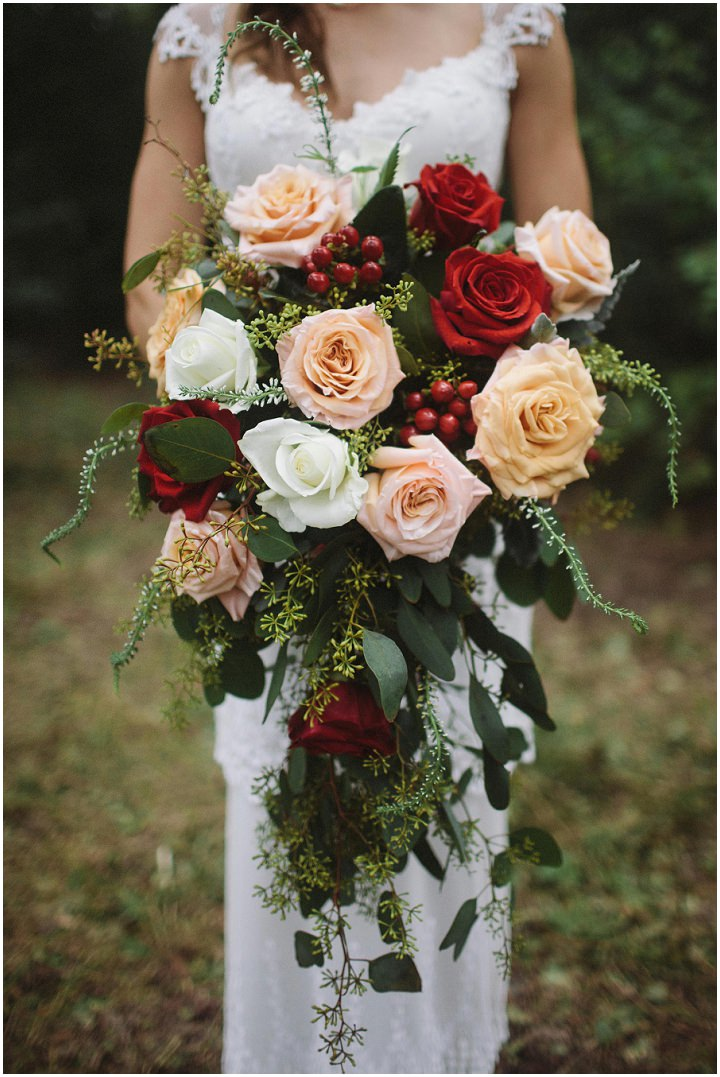 Michelle and Lucas's Rainy Outdoor Texas Wedding by Nicholas L Photo