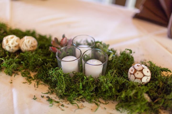 30 Autumn Wedding in the Woods by Leslie West Photo