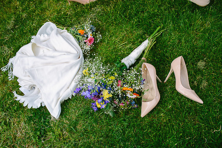Michelle and John's Minimalist, Honest, Hand-Made Wedding by Yvonne Lishman