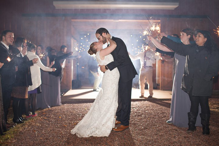 34 Autumn Wedding in the Woods by Leslie West Photo