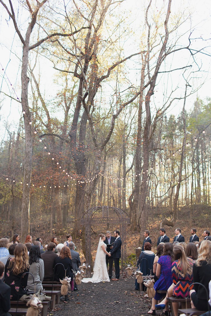 4 Autumn Wedding in the Woods by Leslie West Photo