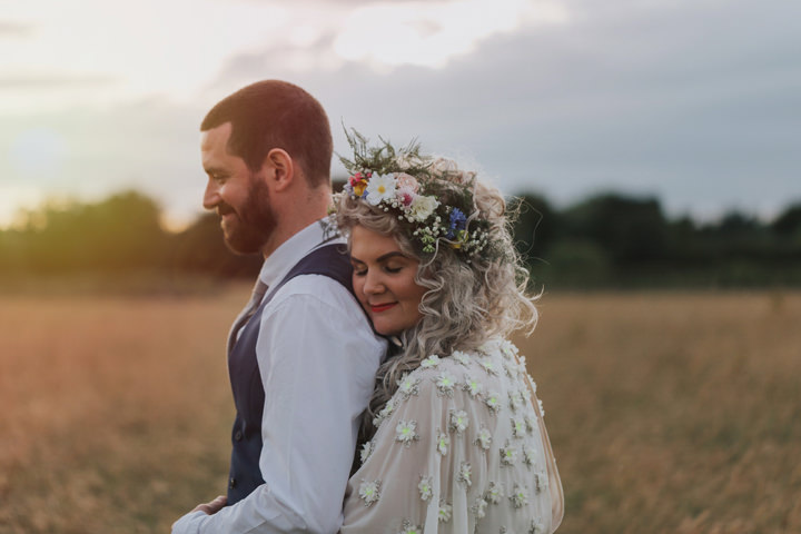 James and Rachel's Vintage Inspired Colourful Barn Wedding by Emma & Rich