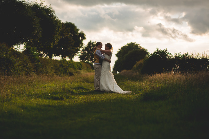Meg and Neil's Woodland Themed Farm Wedding by Hannah Hall Photography