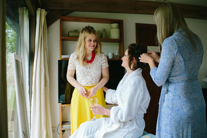 Michelle and John's Minimalist, Honest, Hand-Made Wedding by Yvonne Lishman