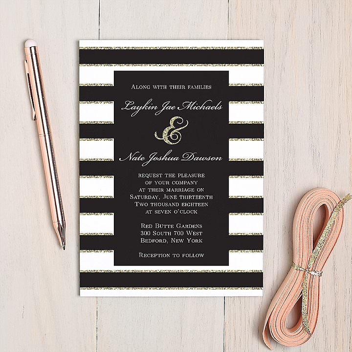 Boho Loves: Basic Invite - Fully Customized Stylish Stationery