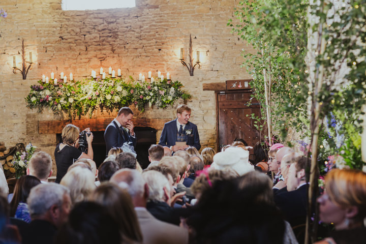 Tim and Laura's Beautiful Barn Wedding in The Cotswolds by Steve Fuller