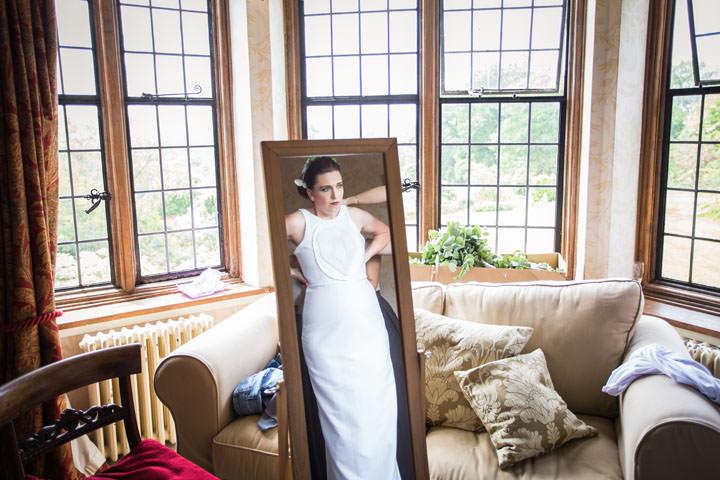 Ebony and Tom's Australia Meets Kent Wedding with a Homemade Wedding Dress by Shelby Ellis