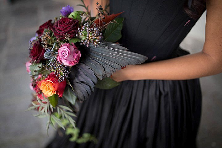 Glamorous Gothic Wedding Inspiration for a Modern Bride