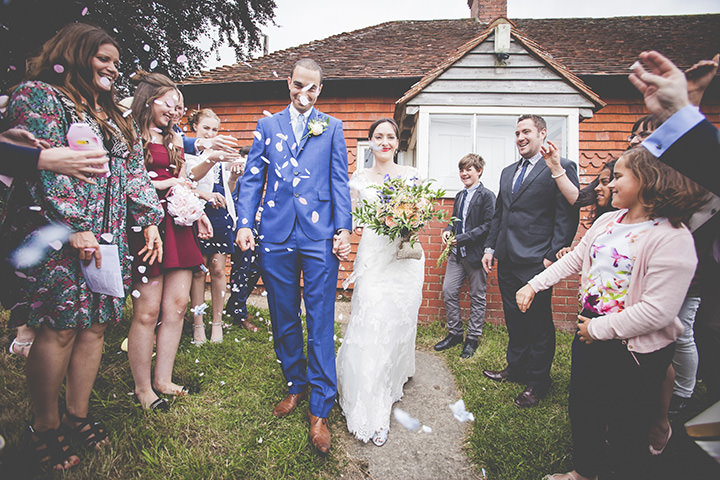 Stella and Jamie's Handmade Barn Wedding with Lots of Personal Touches by Abigail Rex Photography