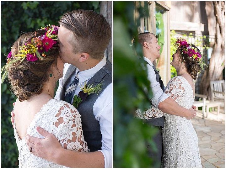 Tropical Bohemian Coastal Wedding Inspiration in Big Sur