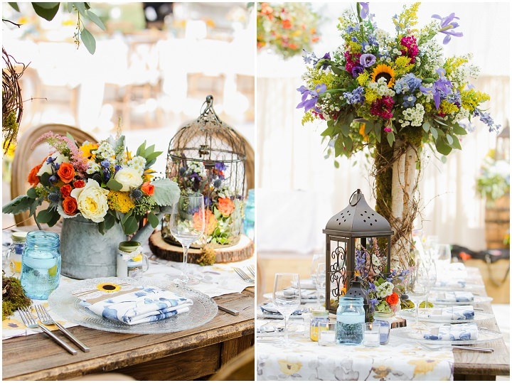 Ashley and Nathan's Sunflowers and Butterfly's Garden Wedding in Colorado by Elevate Photography