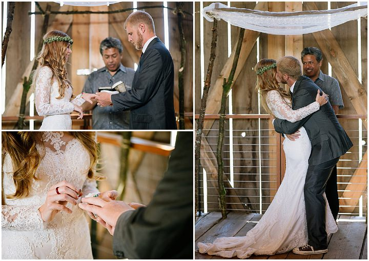 Tani and Ben's Barefoot Bohemian Barn Wedding in Oregon by Undressed Moments Photography