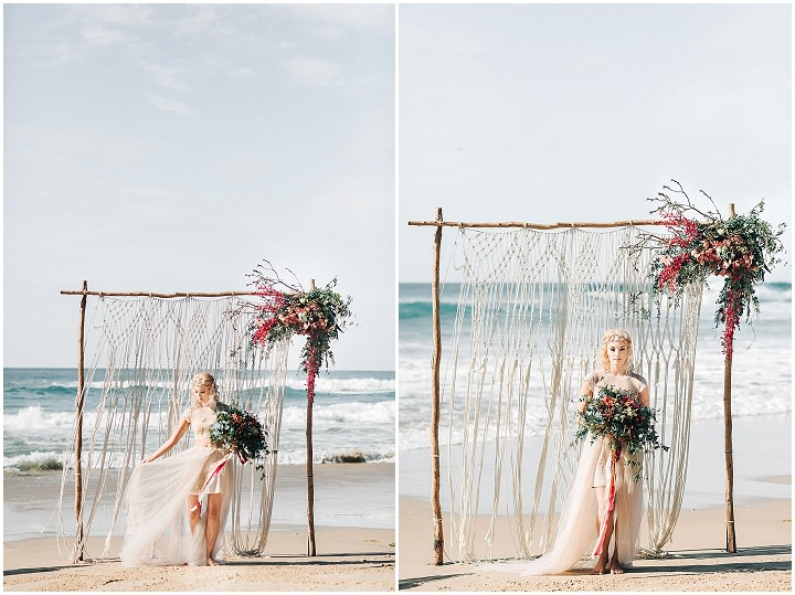 Beach Wanderlust Coastal Vagabond Wedding Inspiration