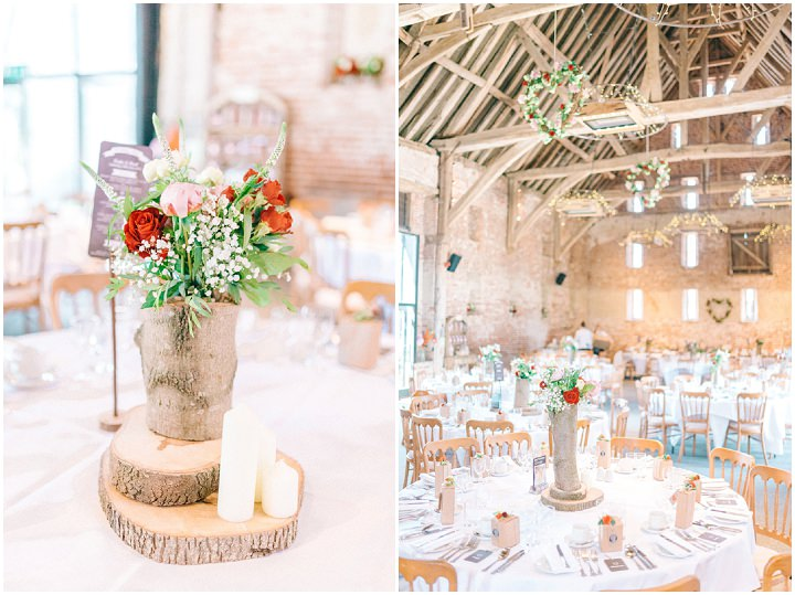 Katie and Paul's Rustic Barn Wedding with Village Fete Fun by Sarah Jane Ethan