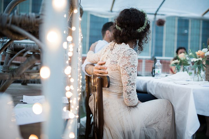 Sandra and Derek's Super Cool and Laid Back Wedding on a Boat by Loke Roos
