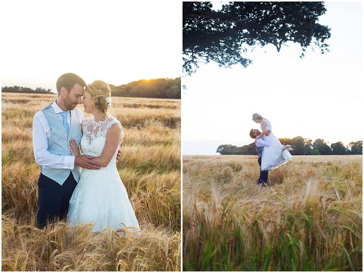 Rhian and Daniel's Pretty Pastel Barn Wedding on Hayling Island by Katie Winter Photography