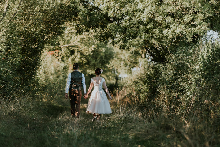 James and Natalie's Homespun Somerset Farm Wedding by Oobaloos Photography