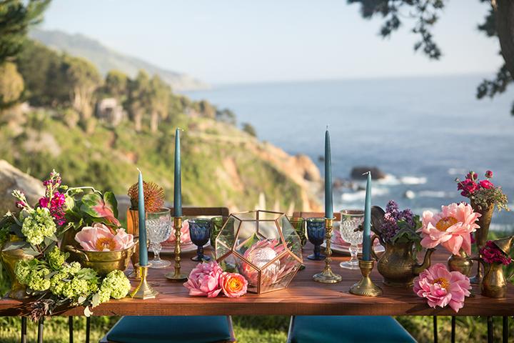 Caribbean Boho Wedding Inspiration: Tropical Bohemian Coastal Wedding Inspiration In Big Sur