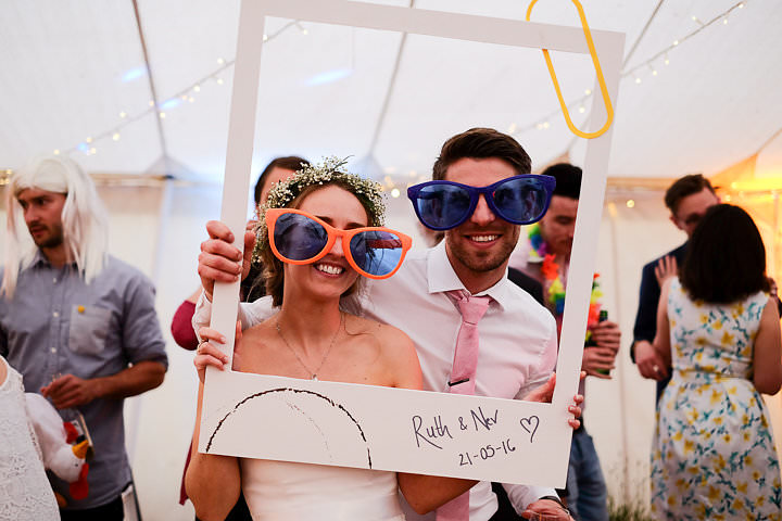 Ruth and Neville's Realxed Homemade Marquee Wedding in Somerset by Warren and Carmen