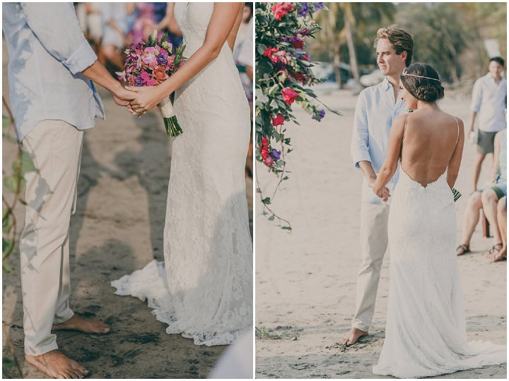 0753964f722e ... Carlos and Monica's Laid Back Costa Rica Beach Wedidng by White Diamond  Photography ...
