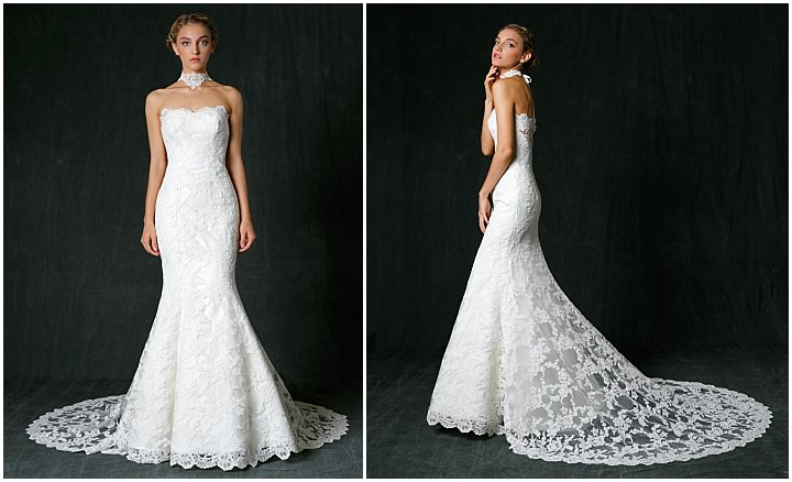 Bridal Style: The 2017 Bridal Collection from Sareh Nouri inspired by the City of Lights