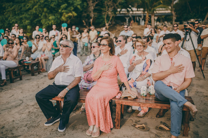 Carlos and Monica's Laid Back Costa Rica Beach Wedding by White Diamond Photography