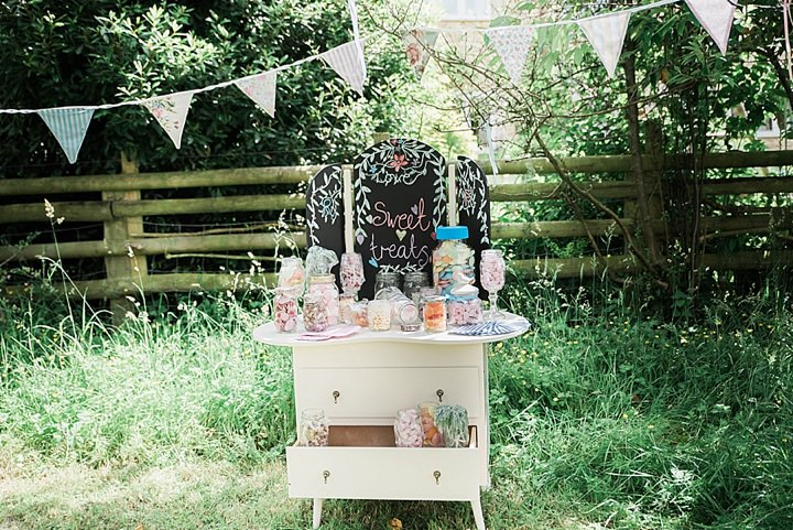 Francesca and Richard's Pretty Pastel Vintage Inspired Garden Wedding by Anna Allan Photography