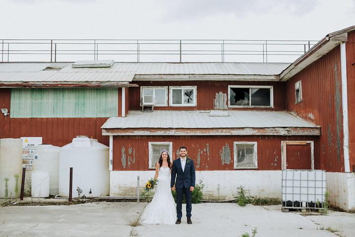 Jontue and Jonathan's Full of Fun and Sunflowers Ontario Wedding by Kingdom Photography
