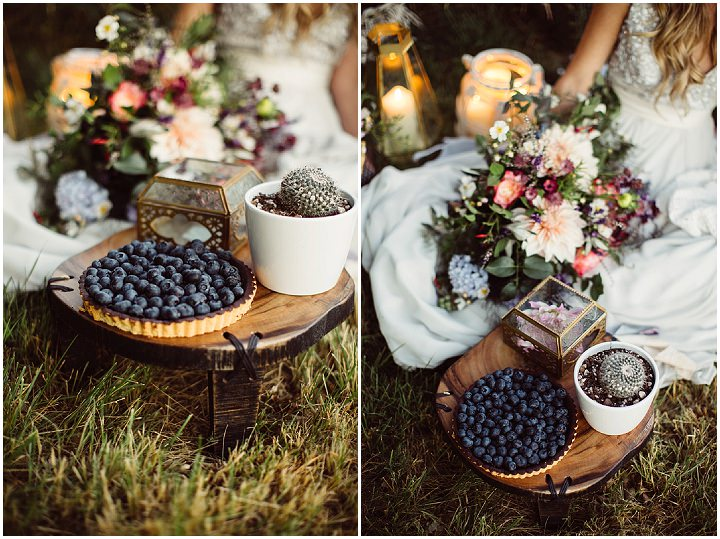 Whimsical Lavender Field Inspiration with Macramé and Wildflowers