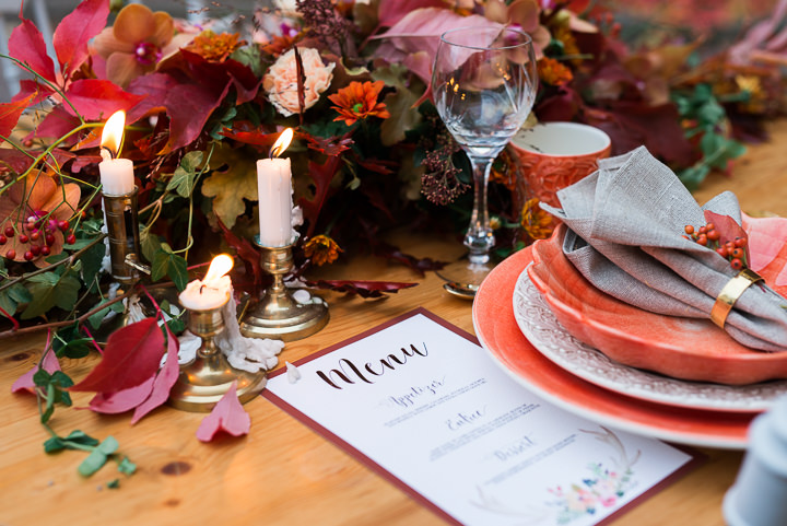 Rustic Romantic Autumnal Inspiration from Sweden