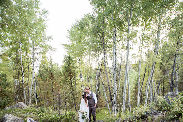 Katie and Gary's 3 Day Bohemian Woodland Festival Wedding by Selah Photography
