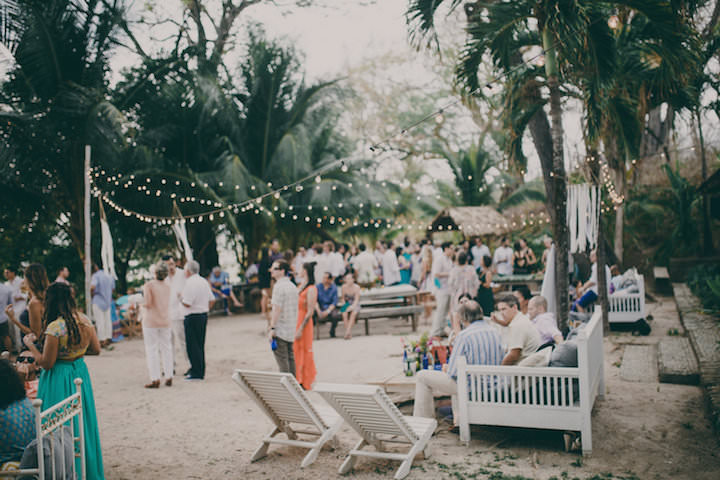 Carloonica S Laid Back Costa Rica Beach Wedding By White Diamond Photography