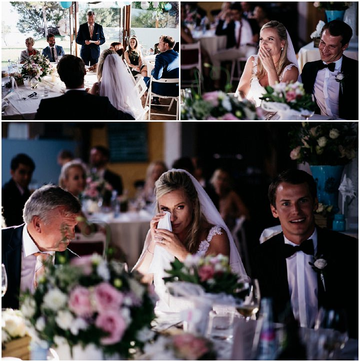 Anja and Arian's Beautiful Spanish Outdoor Wedding by Xavi Baeli