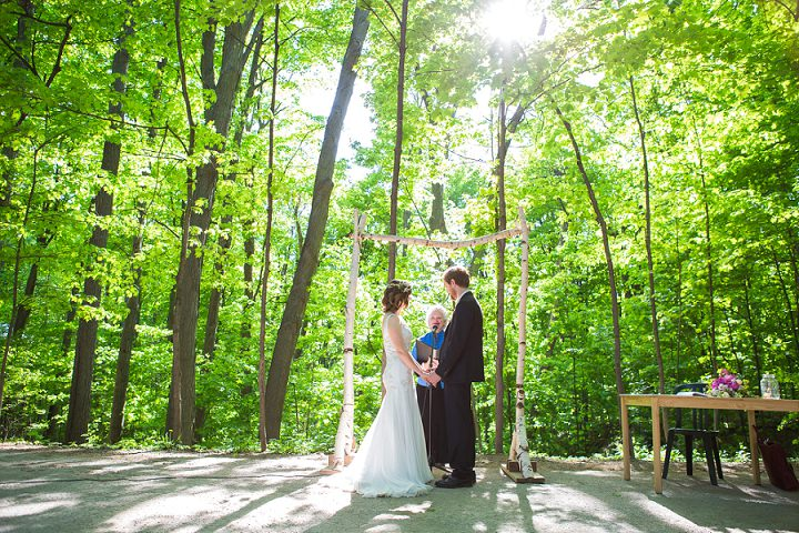 Katrina and Sean's Eco Friendly Canadian Wedding by Samantha Ong Photo