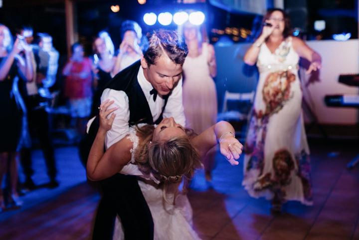 Anja and Arian's Beautiful Spanish Outdoor Wedding by Xavi Baeli