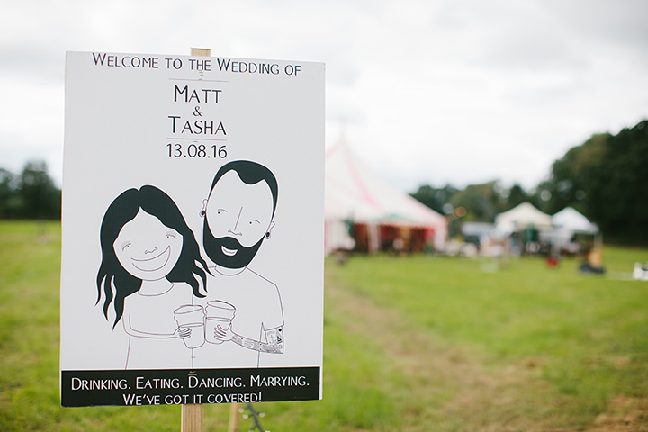 Natasha and Matthew's Awesome Circus Tent Wedding in Cheshire by Dan Hough Photography