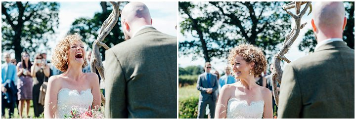 James and Hermoine's Homespun Tipi Wedding in a Meadow by Anna Pumer Photography