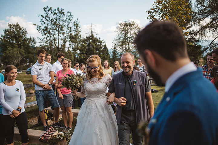 meta and albert s nature inspired rustic slovenian wedding by katja