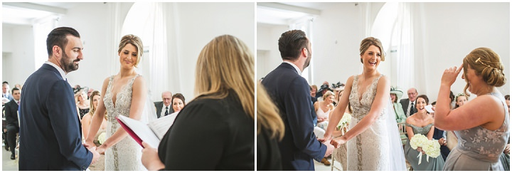 Jamie-Lee and Daniel's Elegant White and Gold Tipi Wedding in Northumberland by Andy Hudson Photography