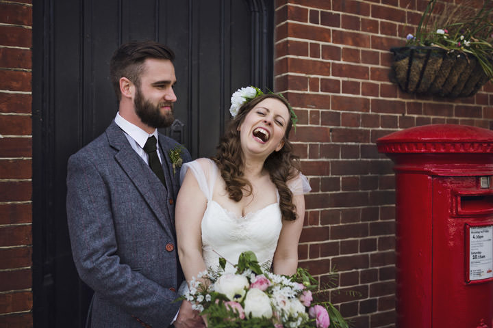 Ella and Andrew's Laid Back Bohemain Garden Wedding in Brighton by Mark Tattersall