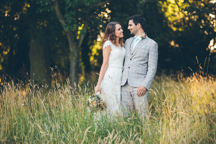 Samantha and Nik's Rose Gold and Pastel Homemade Nottingham Wedding by Firsthand Photography