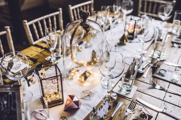 James and Caroline's Glitter and Geometrics Liverpool Wedding by Clara Cooper Photography
