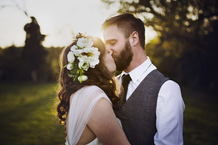 Ella and Andrew's Laid Back Bohemian Garden Wedding in Brighton by Mark Tattersall