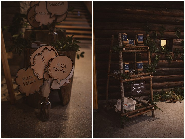 Meta and Albert's Nature Inspired Rustic Slovenian Wedding by Katja and Simon