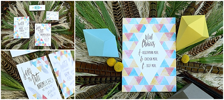 5Boho Geometric Woodland Wedding Inspiration by Sophie Bowdler Photography