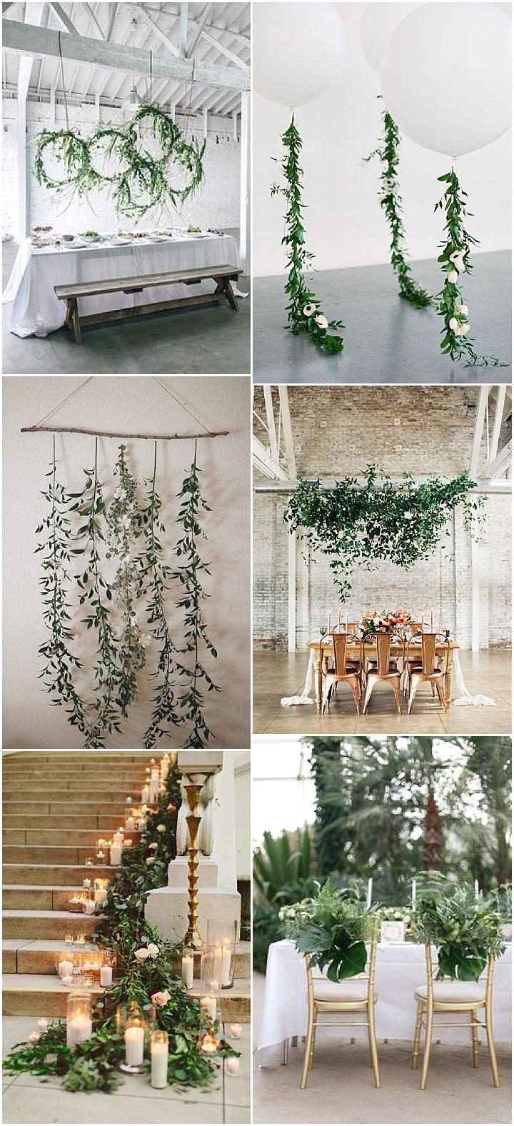 Ideas and Inspiration For Your Pantone Colour of the Year - Greenery Inspired Wedding