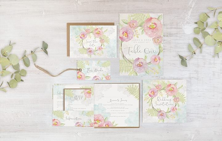 Introducing Lucy Ledger's New Wedding Stationery Collection, PLUS an Exclusive Discount Offer for Boho Readers