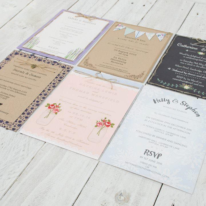 Boho Loves: Cate Darcy Stationery -  Shabby Chic and Rustic Boho Inspired Wedding Stationery