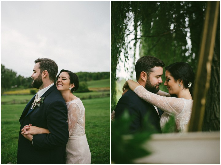 Brittany and Drew's Beautiful Canadian Barn Wedding by Megan Ewing